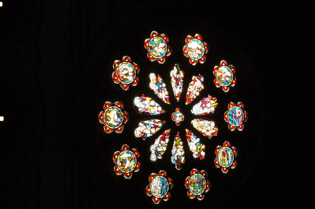 Internal - Rose Window